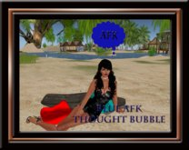 AFK Thought Bubble - Blue