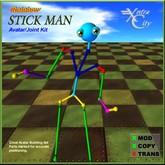 Avatar Building Tool - Rainbow Stick Man Avatar
