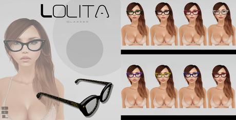 [DDL]Eyewear  - L Glasses (Black)