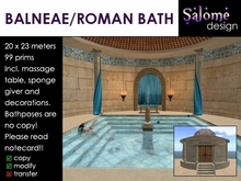 Balneae / Roman Bath / Bathhouse ** Sale ***