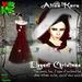 [BOX] elegant christmas - vestito natale elegante con boa