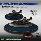 Xtreme Hovercraft & Rezzer V.1.5 - Black & Blue