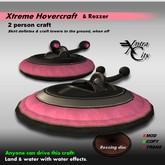 Xtreme Hovercraft & Rezzer V.1.5 - Black & Pink