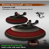 Xtreme Hovercraft & Rezzer V.1.5 - Black & Red