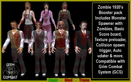Zombies 1920 Spawner pack (BOXED)