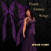 Purple Fantasy Wings by Aqua Vitae