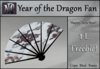 1L Freebie - Year of the Dragon Fan-White