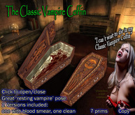 Tut-ench-Sarkophag, oder ein stilvolles Sarg für einen Vampir