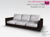 Full Perm Mesh Couch / Sofa Builder's Kit Set