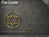 Necklace - Star of David - Gold