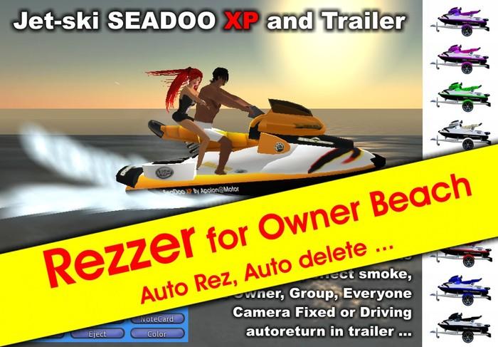 Rezzer Jetski XP