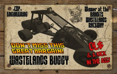 =CDP= Wastelands Buggy Crate Box