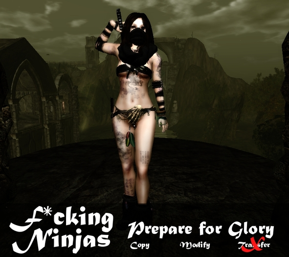 *FN* Prepare for Glory Pose + Katana