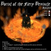 Portal of the Fiery Pentacle