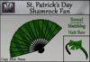 St. Patrick's Day Shamrock Fan