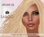 *SABOO* LEILANI (2) =PROMO= 199L SALE= Skin & Shape