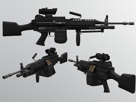 Second Life Marketplace - Mk48 Light Machine Gun 1.0.6