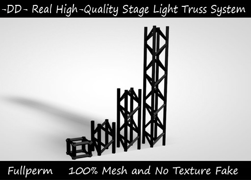 Fullperm Stage Lighting Trusses Builder Set for Clubs and Creators. This set is High-quality and Mesh for a better party