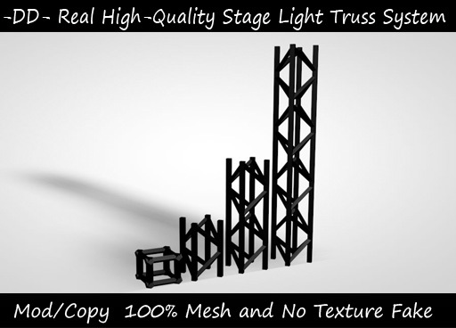 Stage Lighting Trusses Builder Set for Clubs and Content Creators. This set is High-quality and Mesh for a better party!