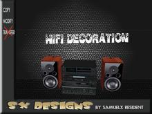hifi decoration