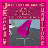 Jessis Office Chair pink