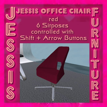 Jessis Office Chair red