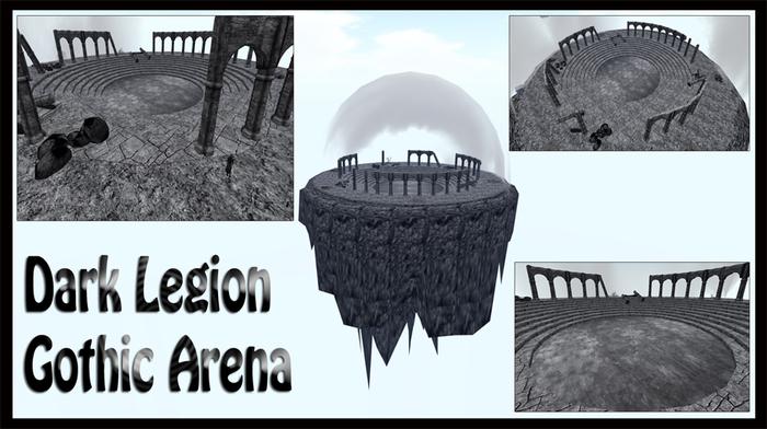 PROMO - Dark Legion - Arena Gothic skybox ,vampire,goth,fantasy