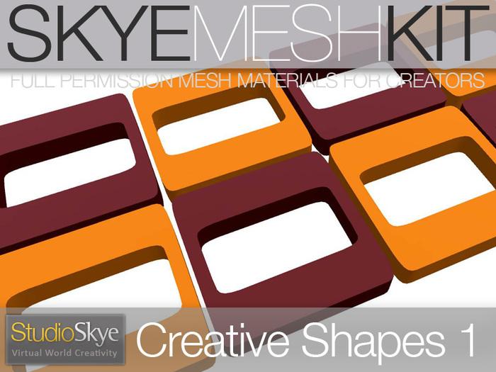 PROMO Skye MESH Kit - Creative Shapes 1