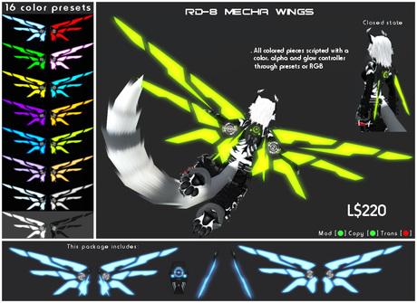 [ZEON] Classic - RD-8 Mecha Wings