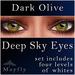 Mayfly - Deep Sky Eyes (Dark Olive)