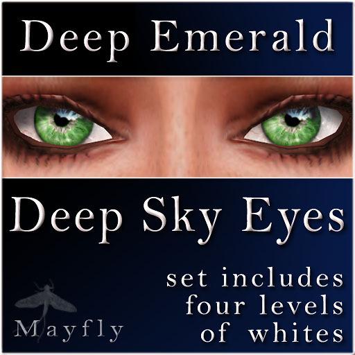 Mayfly - Deep Sky Eyes (Deep Emerald)