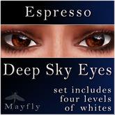 Mayfly - Deep Sky Eyes (Espresso)