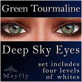 Mayfly - Deep Sky Eyes (Green Tourmaline)