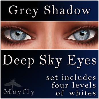 Mayfly - Deep Sky Eyes (Grey Shadow)