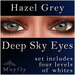 Mayfly - Deep Sky Eyes (Hazel Grey)