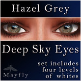 Mayfly - Deep Sky Eyes (Hazel Grey)