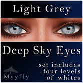Mayfly - Deep Sky Eyes (Light Grey)