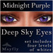 Mayfly - Deep Sky Eyes (Midnight Purple)
