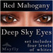 Mayfly - Deep Sky Eyes (Red Mahogany)