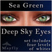 Mayfly - Deep Sky Eyes (Sea Green)