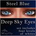 Mayfly - Deep Sky Eyes (Steel Blue)