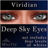 Mayfly - Deep Sky Eyes (Viridian)