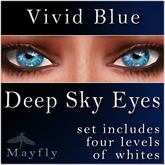 Mayfly - Deep Sky Eyes (Vivid Blue)