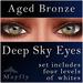 Mayfly - Deep Sky Eyes (Aged Bronze)