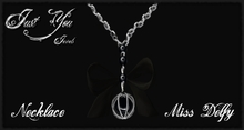 GIFT *** Just You Jewels *** Necklace Miss Delfy