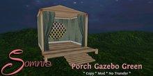 .: Somnia :. Porch Gazebo {Green} {Boxed}