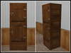 RE Old Wood Ice Box - One Prim - Kitchen/Saloon Decor