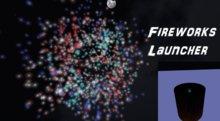 Fireworks Launcher(5) - Light up the Sky (290 Rockets) MegaPack