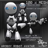 Mesh Avatar Aroboy Robot