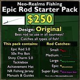Neo-Realms Fishing: Epic Rod Starter Pack (Original)